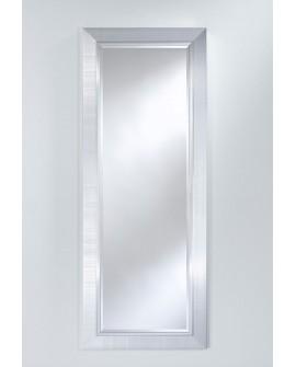 Miroir BREMEN LARGE HALL Traditionnel Classique Rectangulaire Argenté 56x146 cm
