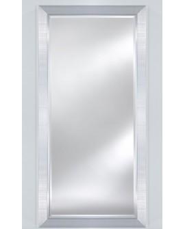 Miroir BREMEN LARGE XL Traditionnel Classique Rectangulaire Argenté 83x183 cm