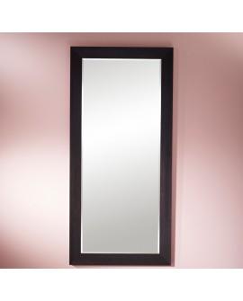 Miroir VALENCIA XL Traditionnel Classique Rectangulaire Wengé 89x189 cm