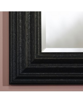 Miroir SEVILLA RECTANGLE BLACK