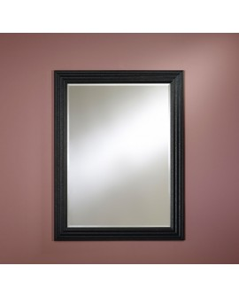 Miroir SEVILLA RECTANGLE BLACK Traditionnel Classique Rectangulaire Noir 93x122 cm