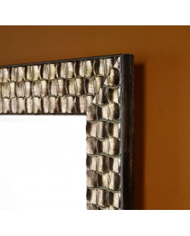 Miroir ALMERIA SILVER RECTANGLE