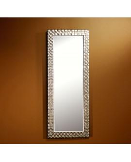 Miroir ALMERIA SILVER HALL Traditionnel Classique Rectangulaire Argenté 57x147 cm