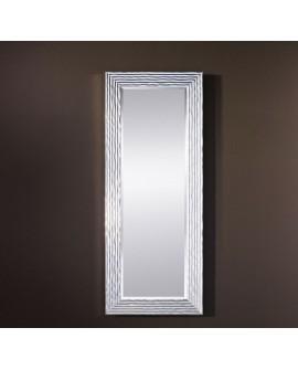 Miroir GRANADA SILVER HALL Traditionnel Classique Rectangulaire Argenté 60x150 cm