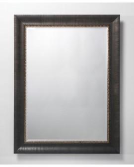 Miroir BOLOGNA Traditionnel Classique Rectangulaire Wengé 95x124 cm