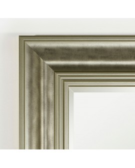 Miroir BERLIN SILVER RECTANGLE