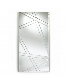 Miroir DESIGN NEST Modern Contemporain Rectangulaire Naturel 75x150 cm
