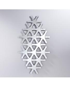 Miroir DESIGN HELIX Modern Rond Naturel 67x123 cm