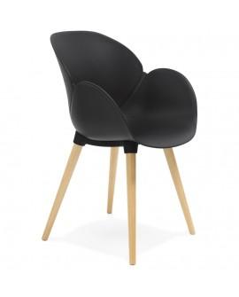 Fauteuil design SITWEL BLACK 59x59,5x84,5 cm