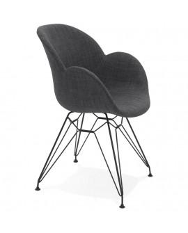 Fauteuil design EQUIUM DARK GREY 59x57,5x85 cm