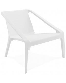 Fauteuil design SOLEADO WHITE 74x69,5x66,5 cm