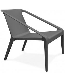 Fauteuil design SOLEADO DARK GREY 74x69,5x66,5 cm