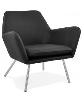 Fauteuil design LUFT BLACK 81x76x78 cm