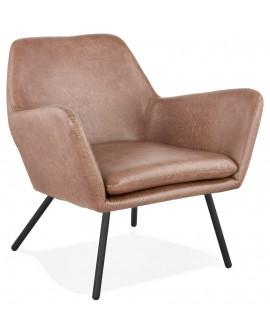 Fauteuil design LUFT BROWN 81x76x78 cm
