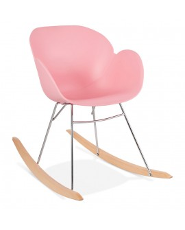 Fauteuil design KNEBEL PINK 59x99x79 cm