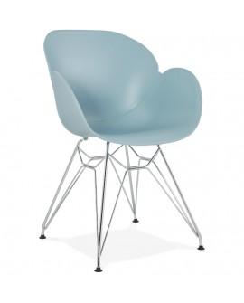 Fauteuil design CHIPIE BLUE 59x57,5x85 cm
