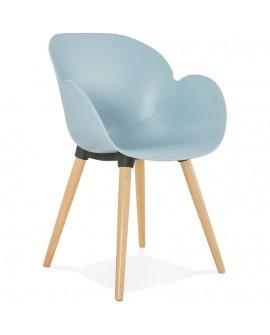 Fauteuil design SITWEL BLUE 59x59,5x84,5 cm