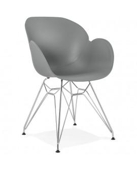 Fauteuil design CHIPIE GREY 59x57,5x85 cm