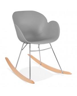 Fauteuil design KNEBEL GREY 59x99x79 cm