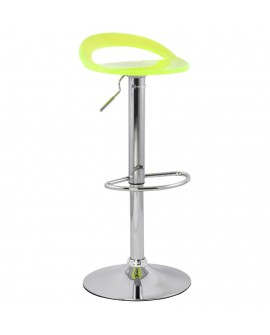 Tabouret de bar design GHOST FLUO 38x39x87 cm