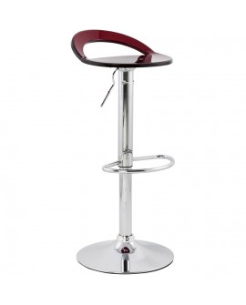 Tabouret de bar design GHOST RED 38x39x87 cm