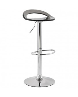 Tabouret de bar design GHOST SMOKEY 38x39x87 cm