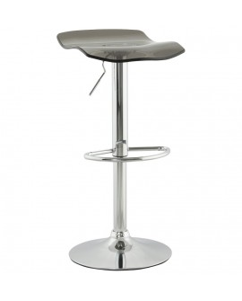 Tabouret de bar design SURF SMOKEY 39x42x84 cm