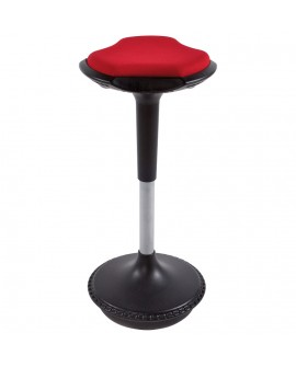 Tabouret de bar design AMA RED 33x33x73 cm
