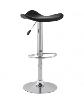 Tabouret de bar design TRIO BLACK 44x44x84 cm