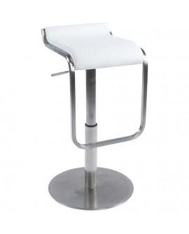 Tabouret de bar design MODENA WHITE 42x44x83 cm