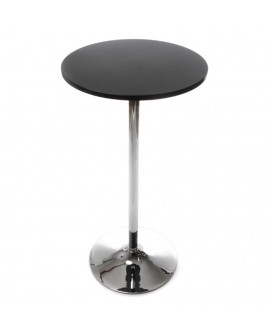 table bar design LILA BLACK 60x60x110 cm