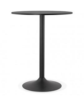 Table bar design TAPEO BLACK 90x90x110 cm