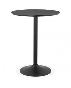 Table bar design PINCHO BLACK 90x90x110 cm
