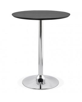 Table bar design ATAA BLACK 90x90x110 cm