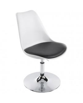 chaise design VICTORIA WHITE 48x54x85 cm