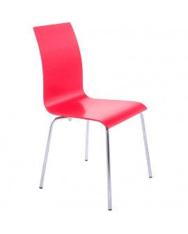 chaise design (non empilable) CLASSIC RED 41x48x88 cm