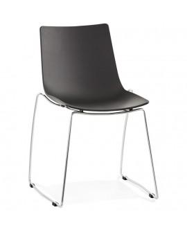 Chaise design TIKADA BLACK 54x58x83 cm