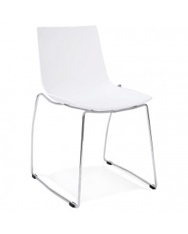Chaise design TIKADA WHITE 54x58x83 cm