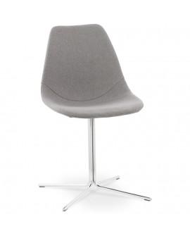 Chaise design NYORO GREY 46x55x83 cm