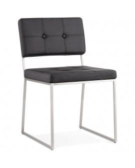 Chaise design GAMI BLACK 48x56,5x81,5 cm