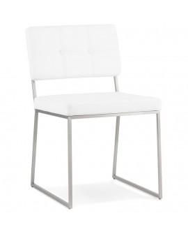Chaise design GAMI WHITE 48x56,5x81,5 cm