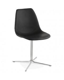 Chaise design BEDFORD BLACK 46x55x83 cm