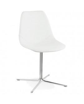 Chaise design BEDFORD WHITE 46x55x83 cm