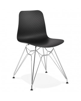Chaise design FIFI BLACK 47x49x83 cm