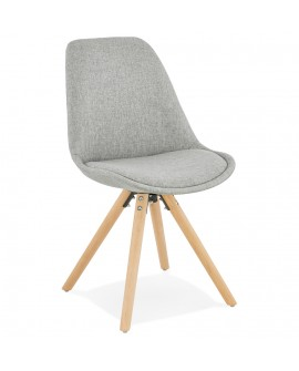 Chaise design BRASA GREY 48x56x82 cm