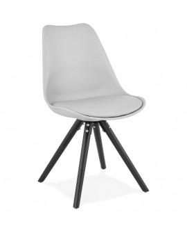 Chaise design MOMO GREY 48x56x82 cm