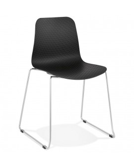 Chaise design BEE BLACK 55x50x82,5 cm