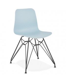 Chaise design FIFI BLUE 47x49x83 cm
