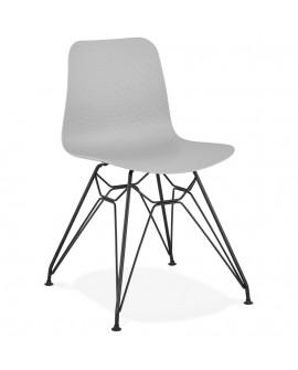 Chaise design FIFI GREY 47x49x83 cm