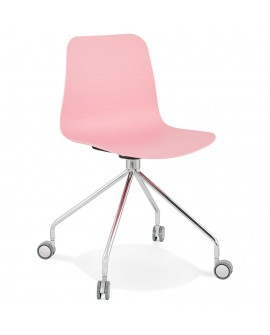 Chaise design RULLE PINK 47x49x80 cm
